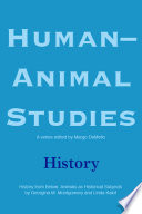 Human Animal Studies  History