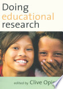 Doing Educational Research Book