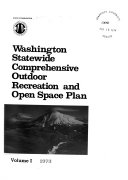Washington Statewide Comprehensive Outdoor Recreation and Open Space Plan