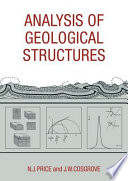Analysis of Geological Structures Book