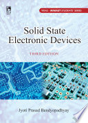 Solid State Electronics Devices (For MAKAUT), 3rd Edition