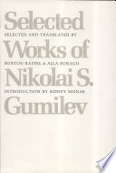 Selected Works Of Nikolai S Gumilev