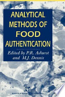 Analytical Methods Of Food Authentication Book