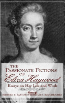 Pdf The Passionate Fictions of Eliza Haywood Telecharger