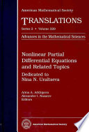 Nonlinear Partial Differential Equations and Related Topics