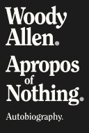 Apropos of Nothing Book