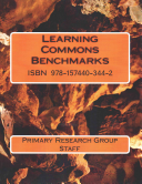 Learning Commons Benchmarks Book PDF
