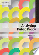 """Analyzing Public Policy"" by Peter John"