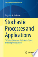Stochastic Processes and Applications Book
