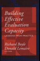 Building Effective Evaluation Capacity