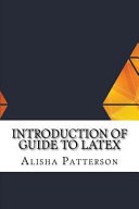 Introduction of Guide to Latex