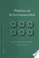 Philodemus and the New Testament world [electronic resource]