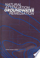 Natural Attenuation for Groundwater Remediation