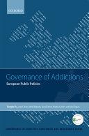 Governance of Addictions