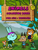 Animals Coloring Book For Kids   Toddlers