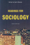 Readings for Sociology Book