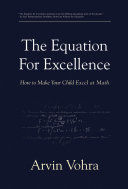 The Equation for Excellence