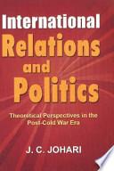 International Relations and Politics