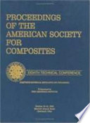 American Society For Composites Eighth Proceedings Book PDF