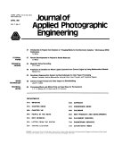 Journal of Applied Photographic Engineering