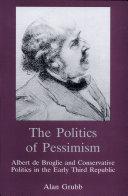 The Politics of Pessimism [Pdf/ePub] eBook