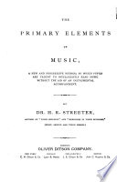 The Primary Elements Of Music Book PDF