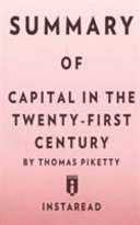 Summary of Capital in the Twenty First Century