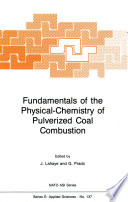 Fundamentals of the Physical Chemistry of Pulverized Coal Combustion
