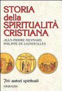 Storia della spiritualità cristiana