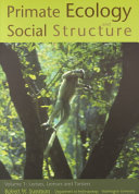 Primate Ecology and Social Structure  Lorises  lemurs and tarsiers