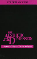 The Aesthetic Dimension