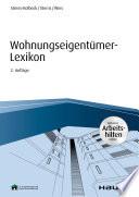 Öffnen Sie das Medium Wohnungseigentümer-Lexikon von Sterns-Kolbeck, Melanie im Bibliothekskatalog