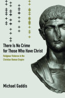 There Is No Crime for Those Who Have Christ