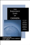 Insolvency Laws of Canada