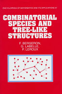 Combinatorial Species and Tree-like Structures