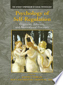 Psychology Of Self Regulation