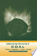 Combustion And Gasification Of Coal Book PDF