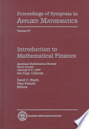 Introduction to Mathematical Finance