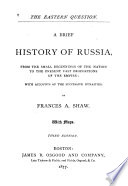 A Brief History of Russia ...