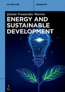 Energy And Sustainable Development Book PDF