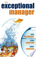 The Exceptional Manager