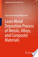 Laser Metal Deposition Process of Metals  Alloys  and Composite Materials
