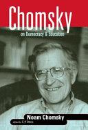 Chomsky on Democracy   Education