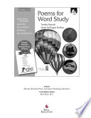Poems for Word Study  Grades 2 3 Book PDF