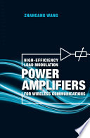 High Efficiency Load Modulation Power Amplifiers for Wireless Communications