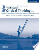 The Power of Critical Thinking Instructor's Manual