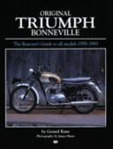 Original Triumph Bonneville