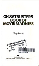 Ghostbusters Book of Movie Madness