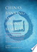 China s Banking and Financial Markets