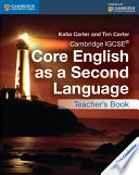 Books - Cambridge Igcse� Core English As A Second Language Teachers Resource Book | ISBN 9781107515710